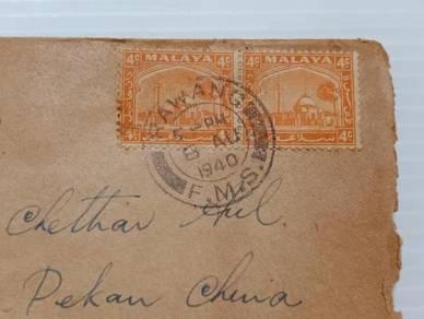 OFFER Antik Cover RAWANG 1940 No 2576