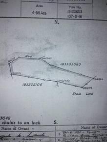 Tanah untuk d jual d kg malikai. status tanah Cl.