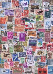 World Stamps in mix 200 pcs Lot 200b