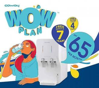 Coway penapis air wow plan
