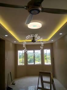 Plaster ceiling ruang tamu kecil