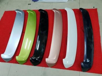 Perodua axia oem spoiler bodykit abs with paint 1
