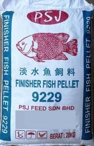 PSJ 9229 Finisher Fish Pellet 20kg Makanan Ikan