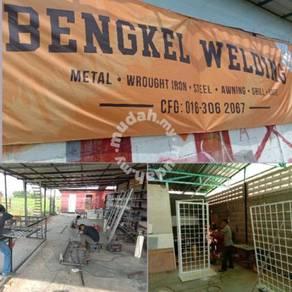 Grill,gate,awning dan kerja besi
