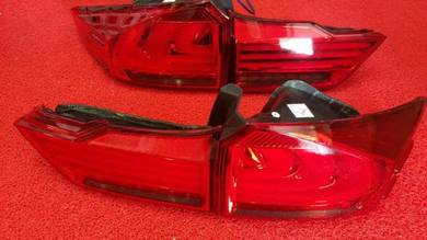 Honda city 2016 led light bar tail lamp taillamp