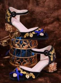 Black blue red pink high heels RBH0192