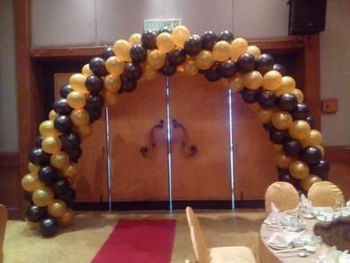 Balloon entrance arch N9