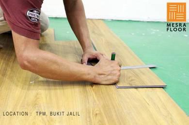 Timber Laminate Flooring / Lantai Kayu Lamina- A23