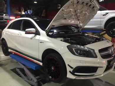 Mercedes a b c -klass engine service or repair
