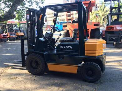 JAPAN Direct Import TOYOTA 2.5 ton 5FG25 FORKLIFT
