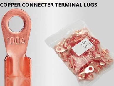 Copper car Battery Connector 12V Terminal lugs