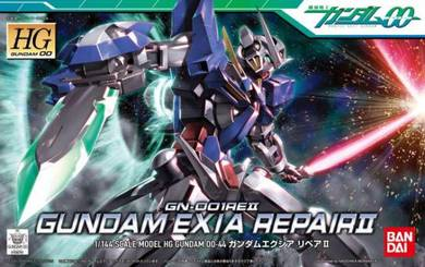 BANDAI HG 1/144 Gundam Exia Repair II Model kit ac