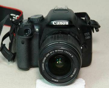 Camera Canon DSLR model 550D Fullkit