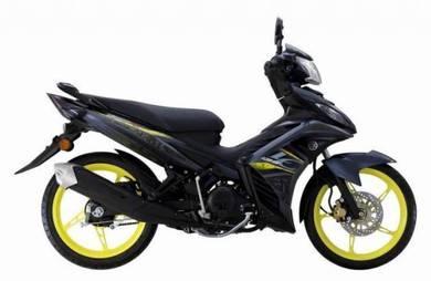 Yamaha 135 lc v6 promosi cny boleh loan kedai