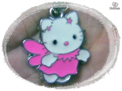 ABPSS-H002 Hello Kitty Pendant Necklace - Pink