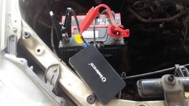 Jumper start powerbank soulor li-polymer batery