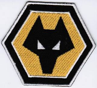 Wolverhampton Wanderers Football England Patch