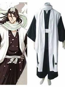 Bleach Kuchiki Byakuya cosplay costume