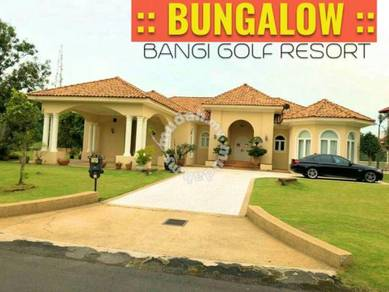 EXCLUSIVE 1Sty ( BUNGALOW ) House ( GOLF FIELD VIEW) Bangi Golf Resort