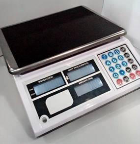 Weighing pricing scale model 8019 timbang