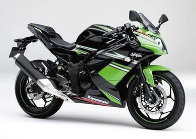 Kawasaki ninja 250 sl promo (labuan)