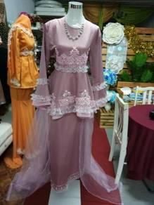 Baju sanding pink belacan