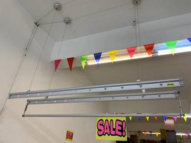 NEW Ceiling Mounted Lifting Drying Rack * M95 ET