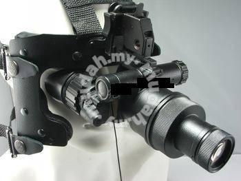 Second generation helmet binocular night vision