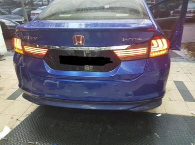 Honda city led light bar tail lamp taillamp lights