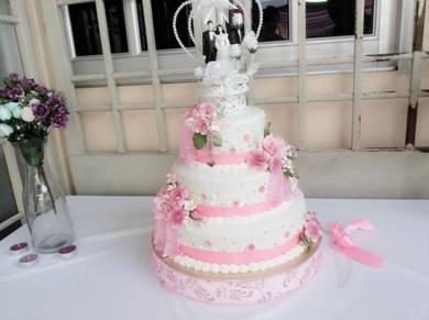Kek Perkahwinan tier di Alor Setar