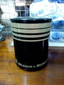 TExp Benson & Hedges Jar Lama Vintage Old
