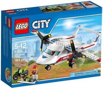 LEGO 60116 Ambulance Plane