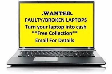 Looking for broken laptops