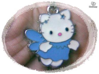 ABPSS-H004 Hello Kitty Pendant Necklace - Blue