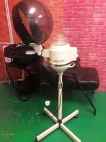 Hair Wash Bed, Hair Steamer, Hydraulic Chair
