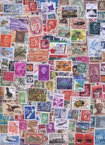 World Stamps in mix 100 pcs Lot 100b