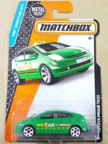 Matchbox MBX Toyota Prius Taxi Green not Hotwheels