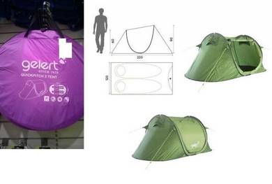 Gelert (UK) Tent For 2 (Khemah)