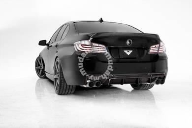 BMW F10 M tech Vorsteiner carbon fiber diffuser