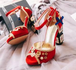 Black red pink high heels 11cm RBH0193