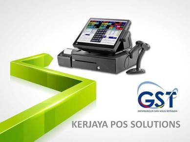 Pos system a.i.o cashier machine touch screen