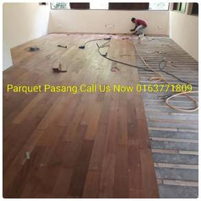 Parquet/Polish Marble Terrazzo+Pasang Marble