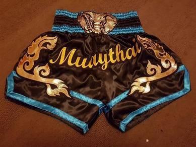 Lumpinee Muay Thai Boxing Satin Shorts Size L