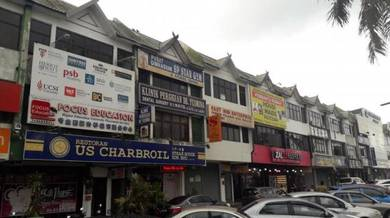 FACING MAINROAD GOOD LOCATION 3 Storey Shoplot at Taman Sejati Indah