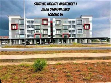 Stutong Heights Apartment 1 At Jalan Stampin Baru Lorong 14