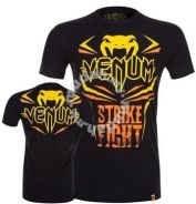 UFC MMA Venum Strike Fight Shirt baju slim fit