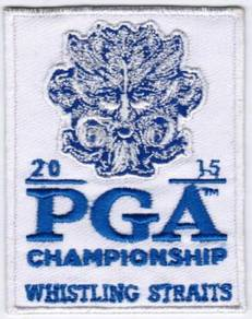 2015 97th PGA Championship Whistling Golf Patch