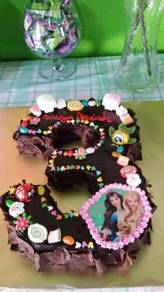 Kek hari jadi custom di Alor Setar
