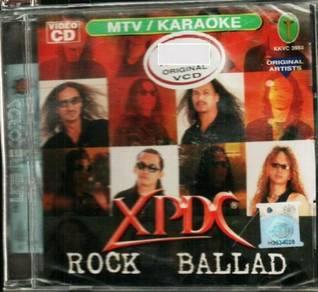 VCD XPDC Rock Ballad Karaoke VCD