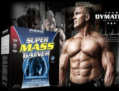 Dymatize super mass gainer weight gain protein